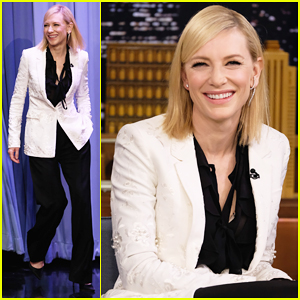VIDEO: Cate Blanchett Takes Shots At Donald Trump During Emotional Interview With Jimmy Fallon!
