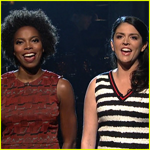 VIDEO: Cecily Strong & Sasheer Zamata Sing a Goodbye to Obama on 'SNL'