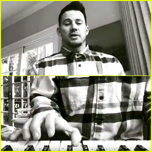 Channing Tatum Is Teaching Himself Piano, Part of New Year Resolution
