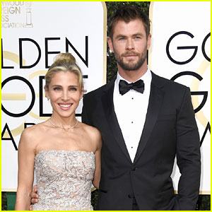 Chris Hemsworth's Ridiculously Cute Instagram About His Hot Golden Globes Date