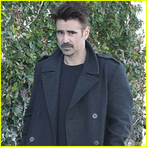 Colin Farrell Enjoys a Day Off in West Hollywood