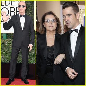 Colin Farrell Took His Mom as His Date to the Golden Globes 2017