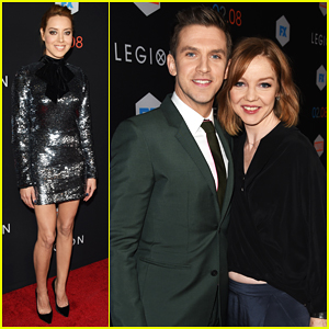 Dan Stevens Brings Wife Susie Hariet To 'Legion' Premiere - Watch New Trailer!