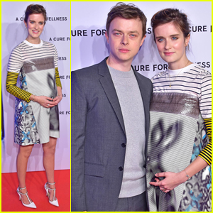 Dane DeHaan's Pregnant Wife Anna Wood Debuts Baby Bump At 'A Cure for Wellness' Berlin Premiere!