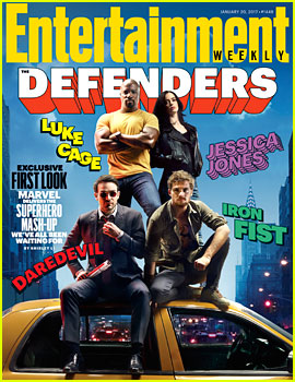 Marvel's 'The Defenders' - First Look Photo!