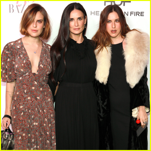 Demi Moore Brings Daughters Tallulah & Scout to 'Harper's Bazaar' Fashionable Women Event