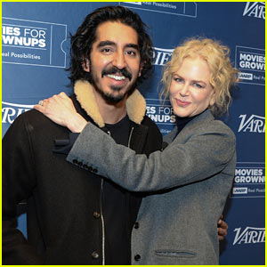 Dev Patel & Nicole Kidman Attend 'Lion' Screening in Hollywood