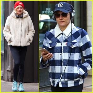 Diane Kruger Bundles Up in New York City