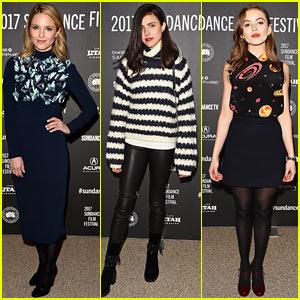 Dianna Agron, Margaret Qualley, & Morgan Saylor Premiere 'Novitiate' at Sundance Film Festival