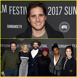 Diego Boneta Supports 'Lemon' Cast at Sundance, Stops By Tao