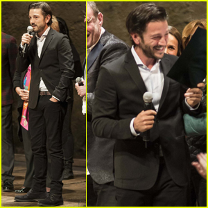 Diego Luna Steps Out Amid Suki Waterhouse Dating Rumors