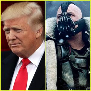 VIDEO: Donald Trump Quoted Tom Hardy's Batman Villain Bane in Inauguration Speech
