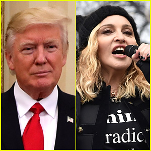 Donald Trump Calls Madonna 'Disgusting' in Response to Women's March Comments