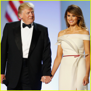 VIDEO: Donald Trump & Melania Trump Share First Dance at Inaugural Ball