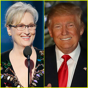 Donald Trump Responds to Meryl Streep's Golden Globes 2017 Speech