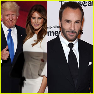 VIDEO: Donald Trump Fires Back at Tom Ford for Refusing to Dress Melania