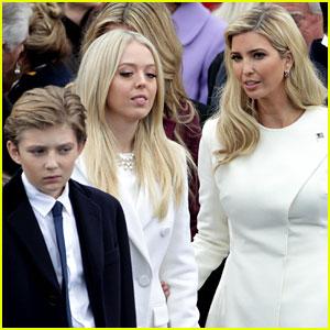 Barron Trump Joins Siblings at Donald Trump's Inauguration (Photos)