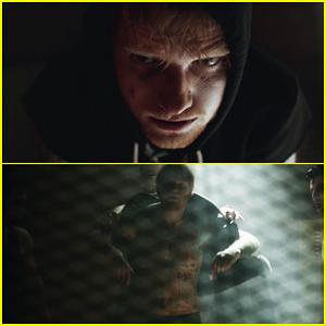 Ed Sheeran Goes Shirtless In 'Shape of You' Music Video!