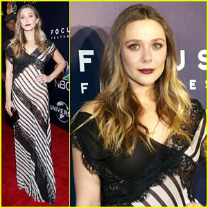 Elizabeth Olsen Celebrates Aaron Taylor-Johnson's Golden Globes 2017 Best Supporting Actor Win!
