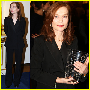 'Elle' Star Isabelle Huppert Receives French Film Honor From UniFrance!