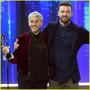 VIDEO: Ellen DeGeneres Talks About Mashed Potatoes While Accepting 20th People's Choice Award!