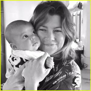 VIDEO: Ellen Pompeo is 'Crazy' Over New Son Eli!