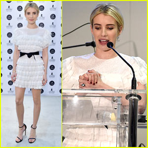 Emma Roberts Hosts L.A. Art Show Supporting St. Jude Children's Hospital