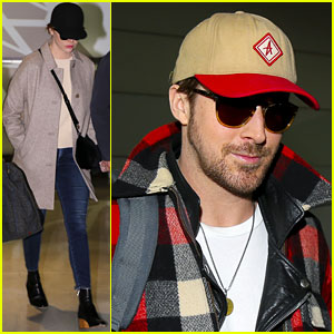 Emma Stone & Ryan Gosling Fly to Paris After BAFTA Nominations!