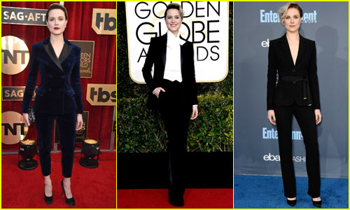 This is Why Evan Rachel Wood Only Wears Suits Now