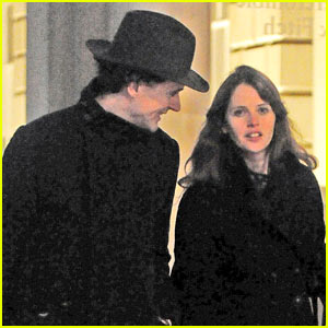 Felicity Jones & Boyfriend Charles Guard Run Into Princess Eugenie on the Street