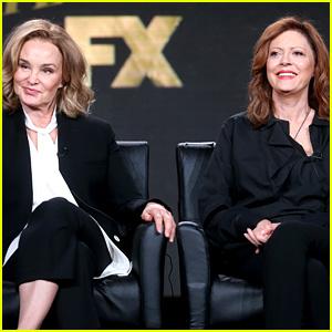 Feud's Jessica Lange & Susan Sarandon Discuss How Hollywood Treats Older Actresses