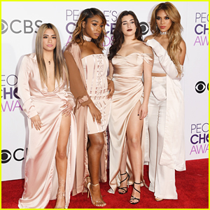Fifth Harmony Slay The Red Carpet at People's Choice Awards 2017