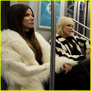 First 'Ocean's Eight' Photo Reveals the Cast Riding the Subway!