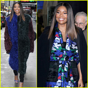 Gabrielle Union Struts Her Way Around NYC