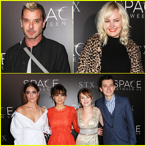 Gavin Rossdale & Malin Akerman Support 'The Space Between Us' Cast At Hollywood Premiere - Watch Trailer!