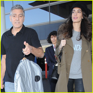 George & Amal Clooney Step Out Together in Los Angeles