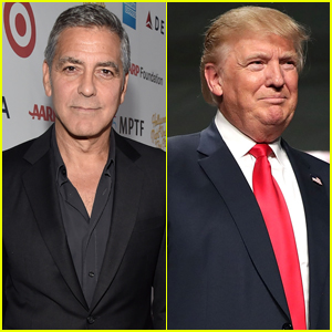 George Clooney Responds to Donald Trump's Comments About Meryl Streep
