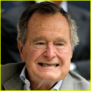 Former President George H.W. Bush Hospitalized for Shortness of Breath, Wife Barbara Also In Hospital
