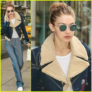 Gigi Hadid's Street Style Is On Point!