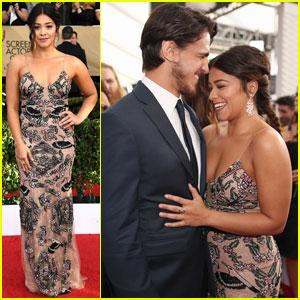 Gina Rodriguez Brings Super Hot Boyfriend Joe LoCicero to SAG Awards 2017
