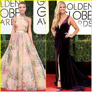 Giuliana Rancic, Nancy O'Dell, & More TV Hosts Hit the Golden Globes 2017 Red Carpet!