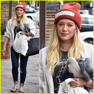 Hilary Duff Lets Fans Know She's Nursing Herself Back to Health
