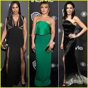 Laverne Cox, Hilary Duff, & Jenna Dewan Tatum Look Sexy at Golden Globes 2017 After Party!