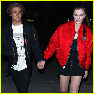 Ireland Baldwin Shares Videos of Her Dogs Shaking Hands, Or Paws Rather
