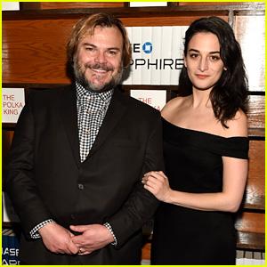 Jenny Slate & Jack Black Celebrate 'Polka King' Premiere at Sundance!
