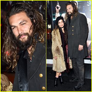 Jason Momoa & Wife Lisa Bonet Make Rare Red Carpet Appearance At 'Live By Night' Premiere!