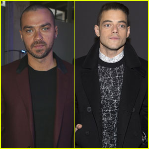 Jesse Williams & Rami Malek Hit Up Paris Fashion Week 2017