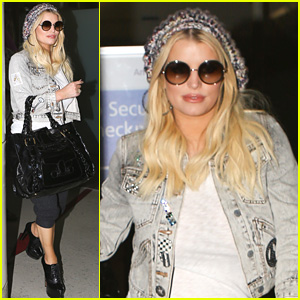 Jessica Simpson Touches Back Down in L.A. with Her Family