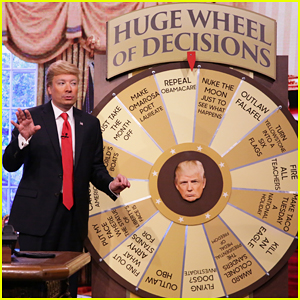VIDEO: Jimmy Fallon Brings Back Donald Trump Impression With 'Huge Wheel of Decisions'!
