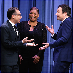 VIDEO: Jimmy Fallon Plays Humannequins With Queen Latifah, Wayne Coyne & Fred Armisen!
